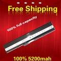 5200 МАЧ Замена Батареи Ноутбука Для Asus K42 K52 k52j А31-К52 А32-К52 A41-K52 A42-K52 B53 A31-B53