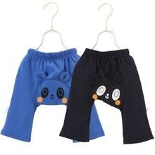 cfc3ff6855556 Été bébé PP pantalon 100% coton Panda garçon pantalon ours enfants Harem  pantalon nouveau-