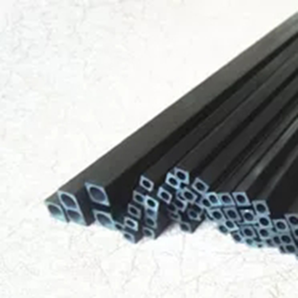 2 Pieces Carbon Fiber Square Tube 10mm OD 8.5mm ID Length 500mm For RC Airplane Model 10pcs 5 mm diameter x 500mm length carbon fiber rods for rc airplane high quality pole