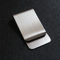 2016 Stainless Steel Slim Pocket men design Money Clip Wallet Cash ID Credit Card business dollar Holder Metal Bill Clamp