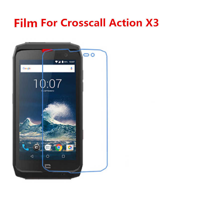 5 Pcs Ultra Thin Clear HD LCD Screen Guard Protector Film With Cleaning Cloth,Mobile phone Film For Crosscall Action X3.