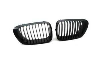 Replacement Euro Style Matte Black Front Grille For BMW E46 2DR 3 Series 99-02 Pre-facelifted