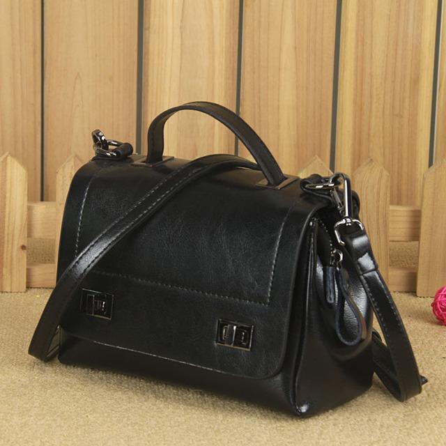 New Arrival Woman Handbags Genuine Leather Messenger Bags Fashion Shoulder Bag Bolsas Feminina PT967