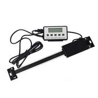 Readout Digital Linear Scale Remote External Display Ruler Machine Tool Vertical/Horizont With LCD Double Magnet Precision Level