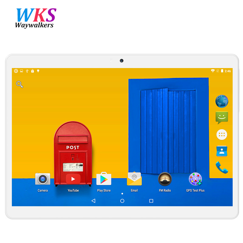 2017 Nuevo Android 5.1 Tabletas PC Tab Pad 9.6 Pulgadas IPS 1280x800 Quad Core 2