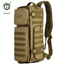 Protector Plus Deportes Al Aire Libre Molle Táctico Militar Mochila Para Mochila de Viaje de Camping Senderismo Mochilas Bolsas Sporttas