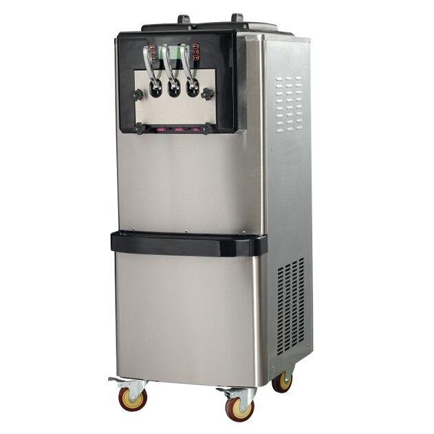20 25L/H Cabinet soft Serve ice cream maker machine 5.8*2L