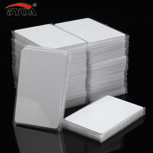 Image 1 - 100pcs/Lot IC Card 13.56MHz ISO14443A S50 MF MFS50 Proximity Smart Universal Label RFID Tag Access Control Card
