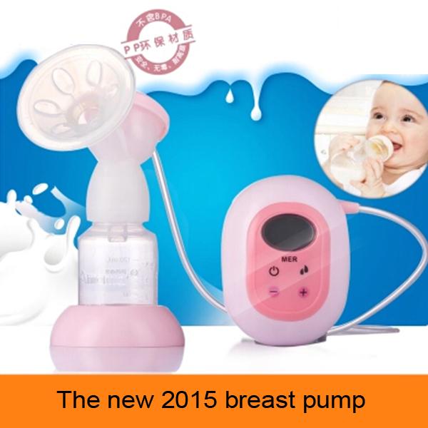 Nuevo eléctrica de la bomba de mama sacaleches posparto bebé leche de ordeño automático madres extractores de leche