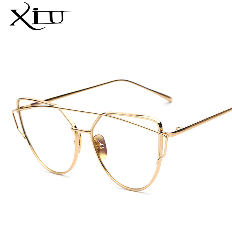 2017 new fashion sunglasses women brand designer metal frame sun glasses vintage mirror shades What style glasses are in fashion 2015