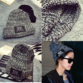 Fashion Women Men Hats Beanies Skullies Wool Knitted Hat Unisex Casual Cap Thick Female Woolen Hat Gorro Beanies Hip-hop Hat 101