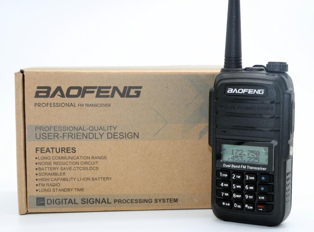 BaoFeng UV-6RA Talkie Walkie CB Radio Portable Pofung UV-6R Série Émetteur-Récepteur 128CH 5 W VHF UHF De Poche UV6R Pour La Chasse