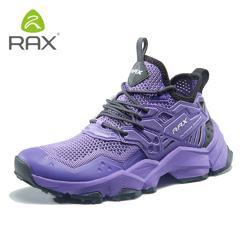 Rax 2019 Spring New Style Light Hiking Shoes Woman Outdoor Sports Sneakers for Female Trekking Shoes Breathable Travelling Shoes