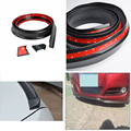 Резина поддельные Углеродного Волокна задний багажник спойлер и передний бампер спойлер для Mercedes Benz W204 W221 W212 W205