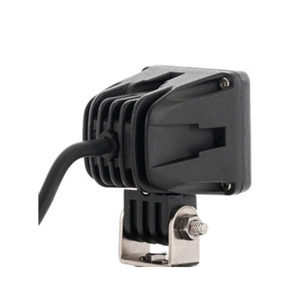 10 قطعة ECAHAYAKU 2 بوصة مربع 10 واط LED ضوء العمل 6000K IP67 ل رافعة شاحنة خفيفة لنقل السلع شبه شاحنة UTV دراجة نارية E-الدراجة 12v24v سيارة led مصباح
