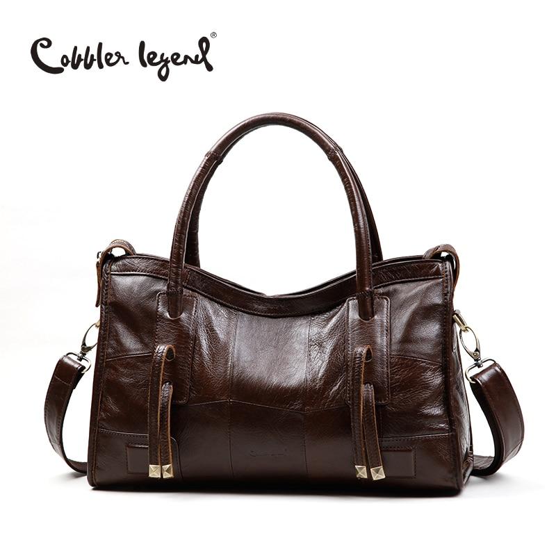 Cobbler Legend Original Genuine Leather Women Shoulder Bags 2017 New Leisure Trend Ladies Crossbody Bag For Womens Handbag