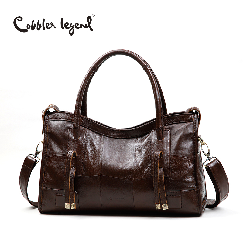 Cobbler Legend Original Genuine font b Leather b font Women Shoulder Bags 2017 New Leisure Trend