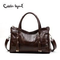 Cobbler Legend Original Genuine Leather Women Shoulder Bags 2017 New Leisure Trend Ladies Crossbody Bag For