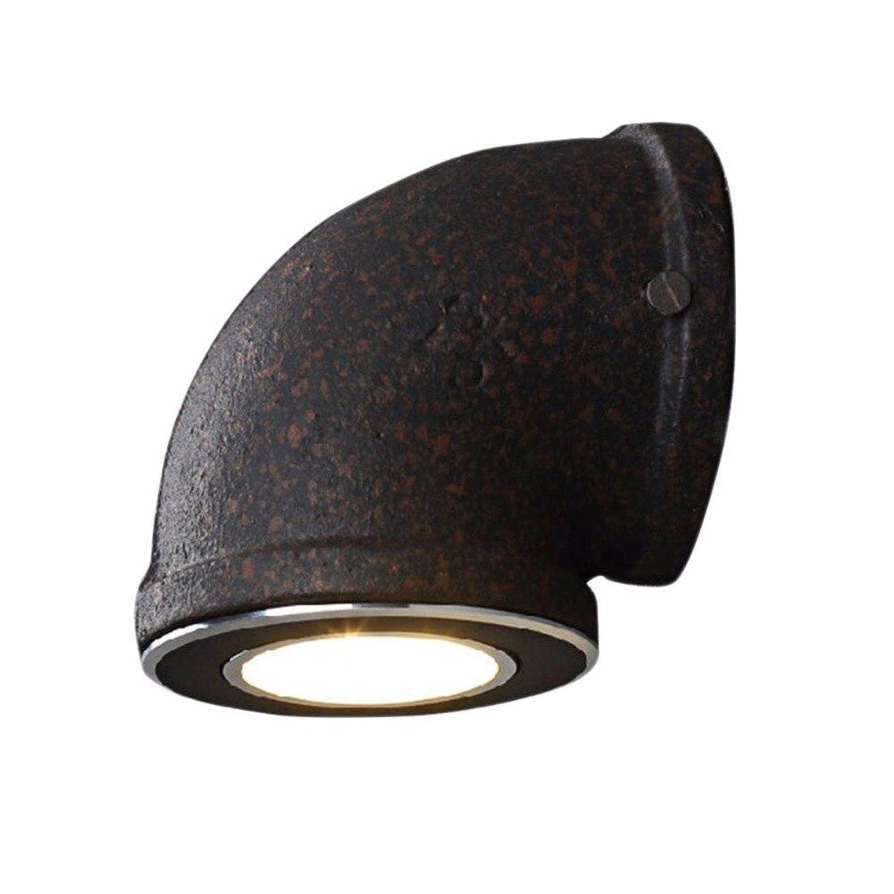 1 pc DIY Bar Loft Wall Sconces Lamp Industrial Pipe LED Wall ... for Diy Industrial Wall Lamp  83fiz