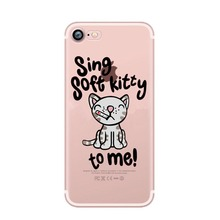 TBBT Soft Kitty iPhone Case