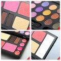 Eyebrow Cream Powder Cake Lip Gloss Cheek Blush Eyeshadow Make Up Kit Combo