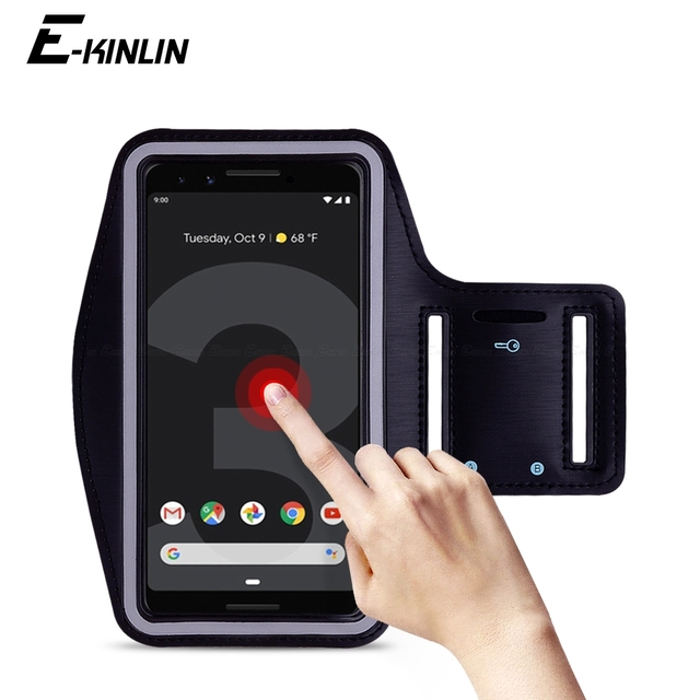 new style 9d8d8 53cf1 US $2.79 25% OFF|Waterproof Running Sport Gym Arm Band For Google Pixel 3 2  XL 3XL 2XL Nexus 6P 6 5X 5 4 Phone holder Case Cover-in Phone Pouch from ...