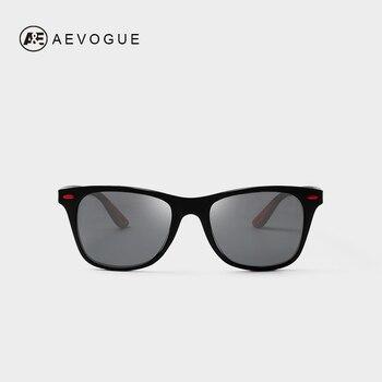 8df5326f1c AEVOGUE Gafas De Sol Polaroid Gafas De Sol hombres cuadrado clásico remache  Gafas Vintage para las mujeres De la marca De diseño De conducción Gafas De  Sol ...