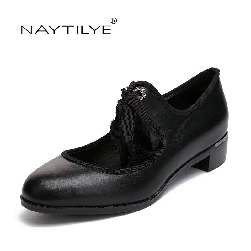 Schuhe der Frauen Schuhe Art und Weisefrühling / Herbst runde Zehe - Damenschuhe - Foto 3