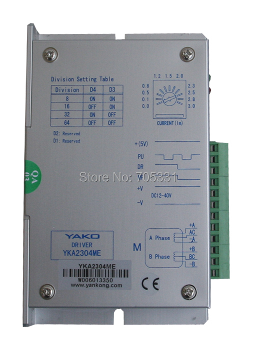 New and Original 2-phase CNC stepper motor driver YKA2304ME original 2 phase cnc stepper motor driver ykc2405m