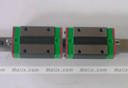 100% genuine HIWIN linear guide HGR25-500MM block for Taiwan 100% genuine hiwin linear guide hgr25 400mm block for taiwan