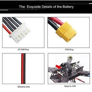 Image 5 - 2 unidades hrb rc lipo bateria 4S 14.8v 6000mah 50c explosão 100c hrad caso deans plug para rc buggy rastreador caminhão monstro barco