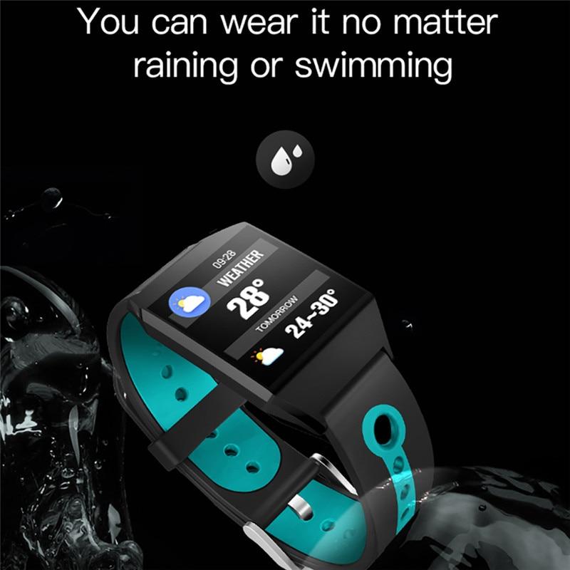 W1 Smart Bracelet Blood Pressure Measurement Color Screen Fitness Tracker Watch Waterproof IP68 Heart Rate Monitor GPS Tracker 3