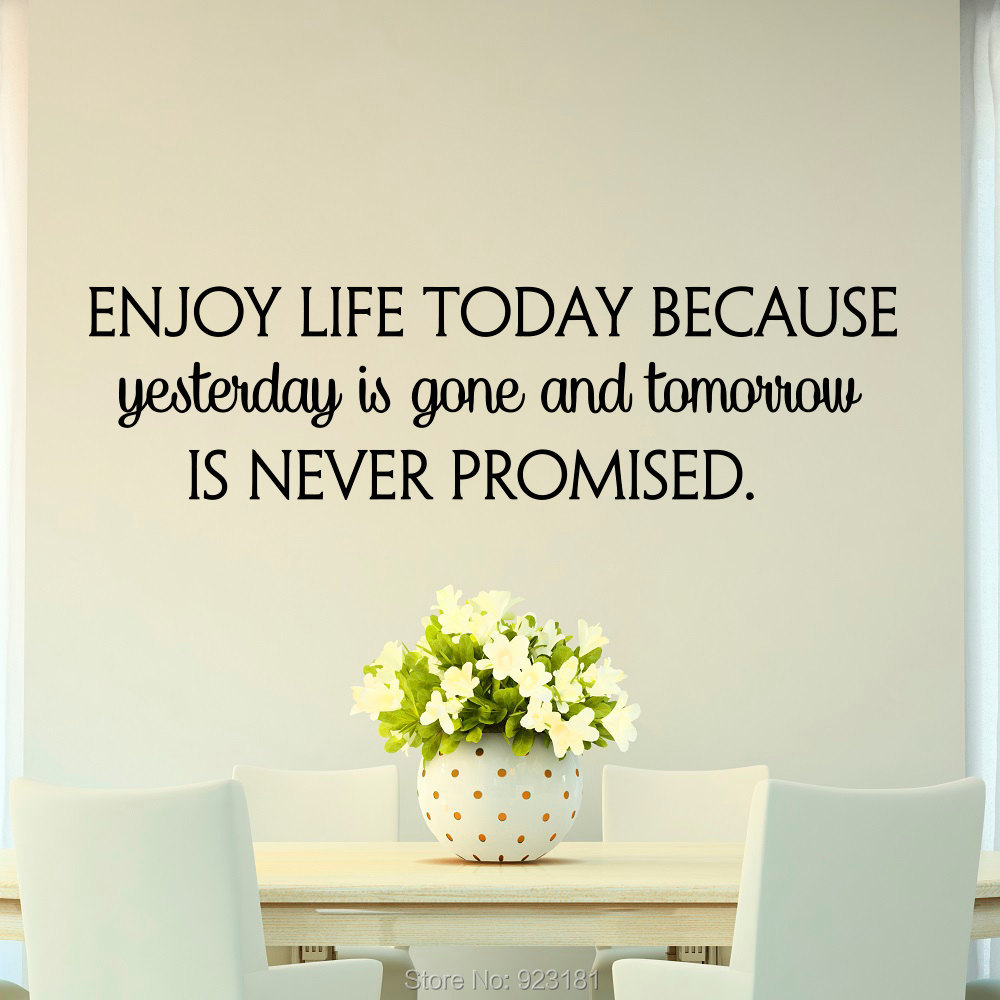 Quotes About Enjoying Life: Popular Today Life-Buy Cheap Today Life Lots From China