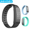 IWOWNFit i6HR Wristband Heart Rate Monitor Bracelet Fitness Tracker Activity Smartband IP67 Waterproof for Android IOS Phone