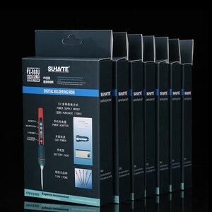 Image 5 - Портативный паяльник 5 в 10 Вт с цифровым ЖК дисплеем, USB, паяльник с регулируемой температурой, сварочные инструменты