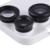 Desmontable gran angular de lente de la caja del teléfono para iphone 6 6 s 6 plus 6 splus distintivo de ojo de pez lente de la cámara cubierta del caso del protector