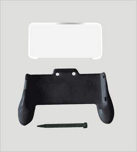 Image 1 - 3 で 1 ゲームアクセサリーキット nintend 新 2DS ll xl コンソールハンドグリップ + クリスタルケース + プラスチックスタイラスペンスタイラス