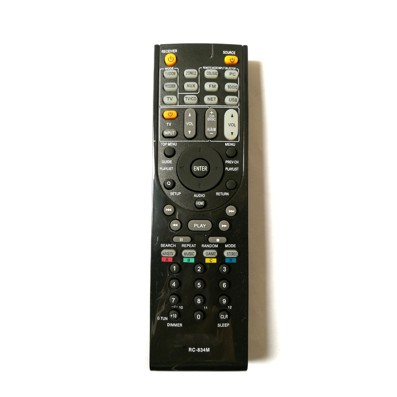 Nuevo para ONKYO RC 834M Audio/receptor de vídeo de Control remoto RC834M RC 799M AV HT R391 HT R558 HT R590 HT R591 HT S5500|remote control|remote control controllercontroller control - AliExpress