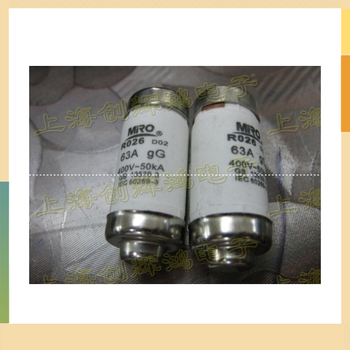 The RO26 D02 ceramic fuse fuse 63A 380V/400V-50KA is tea melt