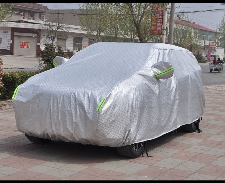 4 colors Car Cover Indoor Outdoor Waterproof Dust Sun Scratch Resistant for Chinese CHERY TIGGO 3