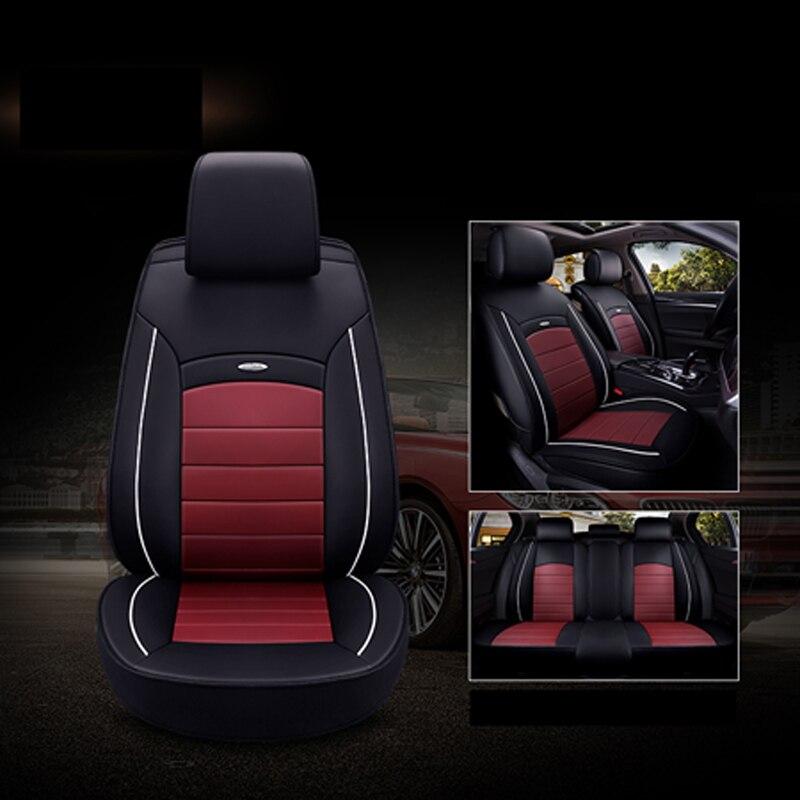 Housses de siège auto universelles en cuir de haute qualité pour Hyundai tous les modèles i30 ix25 ix35 solaris elantra accent azera lantra