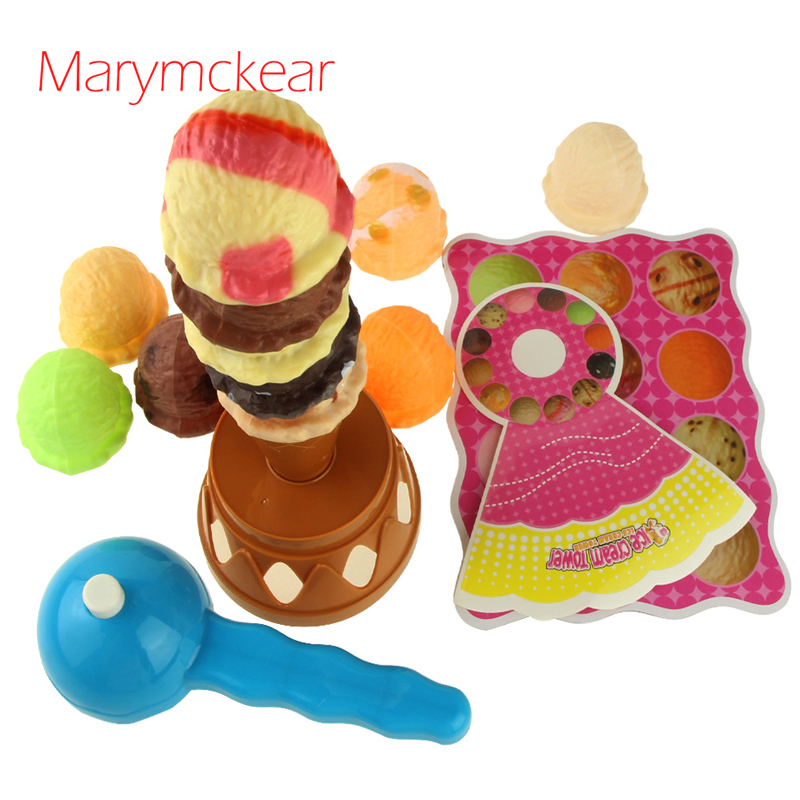 Hard-Working Magnet Cut Toy Magnetic Wooden Food Assemble Toys Educational Child Gift Ice Cream #2 Home