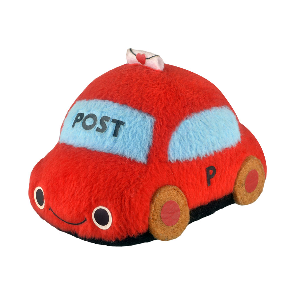 Plush Toys Cute Car White Ambulance Police Car Red Post Car Yellow Small Creative 3d Stuffed Toy Dolls Home Decor Kawaii Gifts Welding Equipment