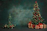 Weihnachten baum Kleinkind Greens Und Blau Baum Familie Älteren hintergrund Computer print kinder kinder hintergrund