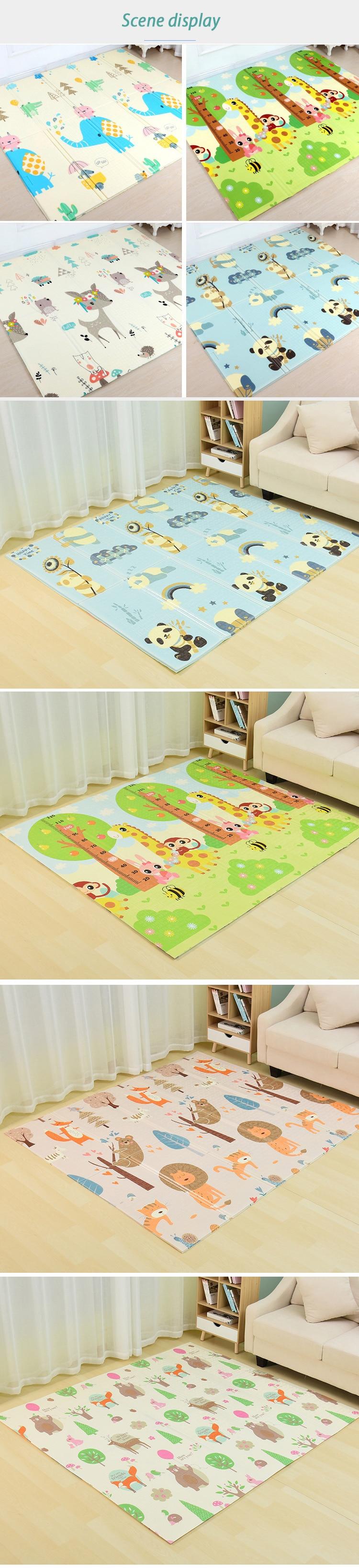 HTB12vw4X.LrK1Rjy0Fjq6zYXFXaf Infant Shining Baby Mat Playmat Kids Carpet Baby Play Mat 200*180*1cm Foam XPE Puzzle Game Pad for Infants Educational Soft Mat