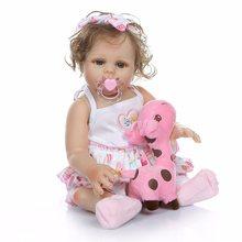 Poupée de bébé reborn 48cm, adorable poupée de simulation, jouet réaliste, cadeau de nouvel an, accessoires de photographie