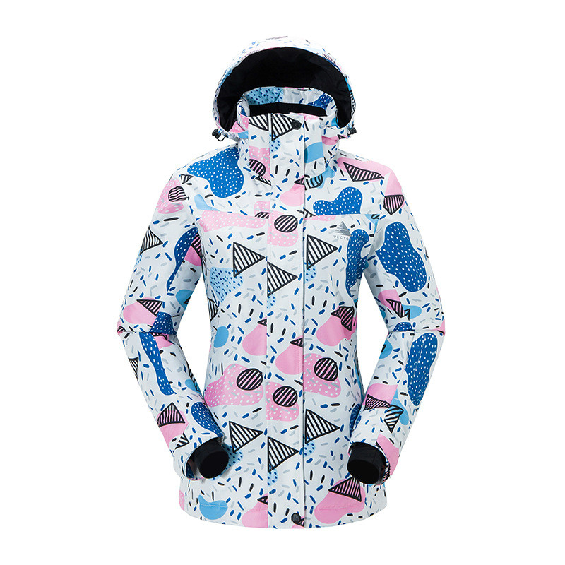 Outdoor Ski Suit Single Double Board Warm Wear-resistant Windproof Waterproof Ski Jacket Snow Coat For Women Size S-XXLOutdoor Ski Suit Single Double Board Warm Wear-resistant Windproof Waterproof Ski Jacket Snow Coat For Women Size S-XXL