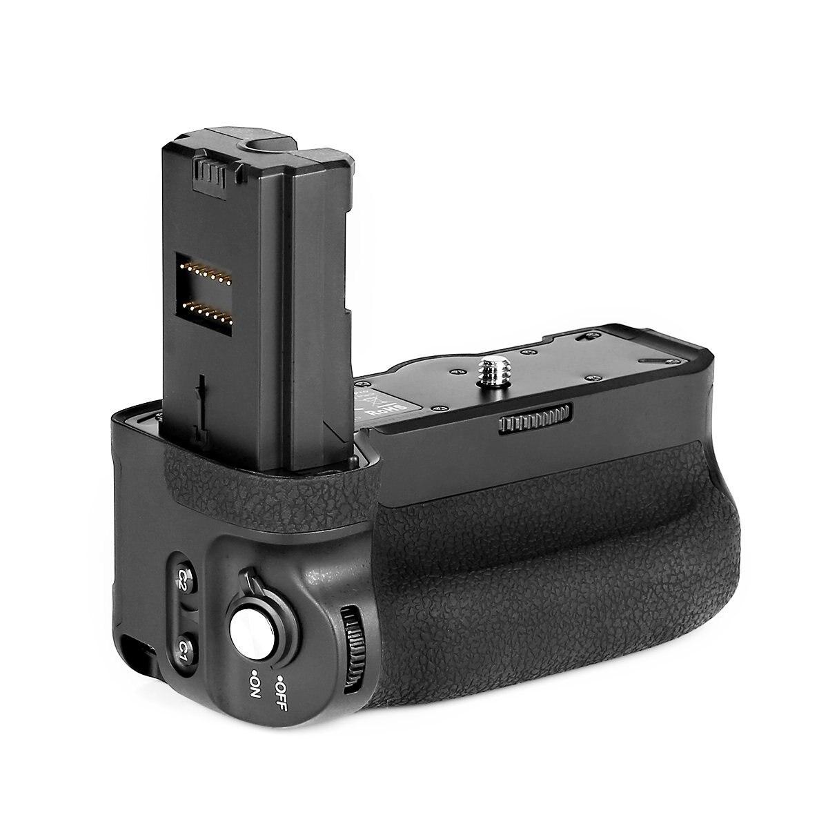 Meike MK-A9 Batterie Grip Control tir Vertical-huées Fsunction pour Sony A9 A7III A73 A7M3 A7RIII A7R3 Caméra