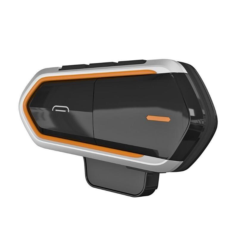 QTBE6 casque moto sans fil Bluetooth casques Interphone BT intercomunicador écouteurs Interphone talkie-walkie