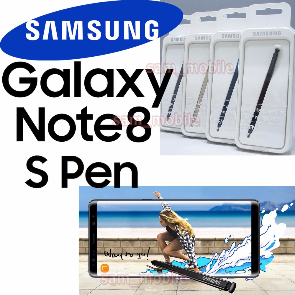 71e50dbddb8 100% original official samsung Touch pen Stylus S Pen Forsamsung Galaxy  Note 8 SM-N950 N950P N950A N950V EJ-PN950